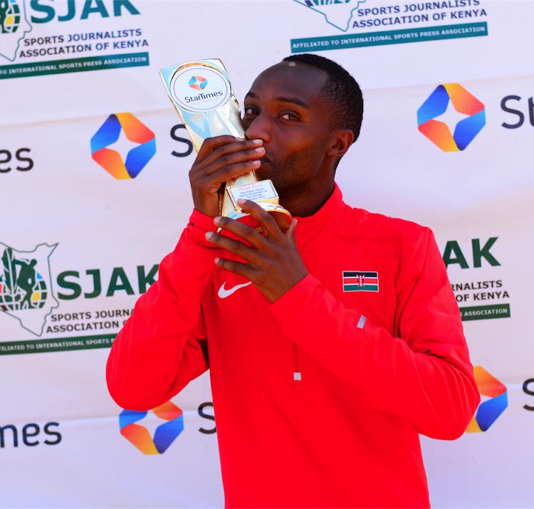 Kirui bags February Sjak/StarTimes award