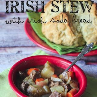 Irish Stew with Irish Soda Bread