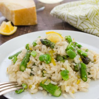 Spring Vegetable Lemon Risotto