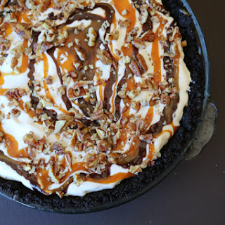 Turtle Ice Cream Pie