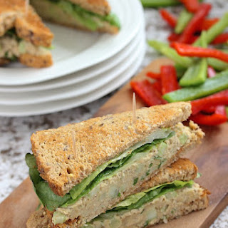 Vegan Tuna Sandwich.