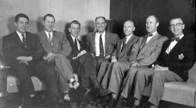 Photo: John Green, Bill Robinson, Al Gray, Ed Schoenherr, Charlie Watson, Jake Klassen, Art Hargreaves