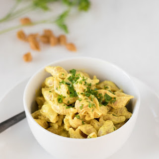 Vegan Sharp Cheddar Mac-n-Cheese.