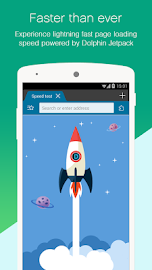 Dolphin Browser for Android Screenshot 1