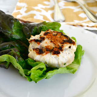 Greek Lettuce Wrapped Turkey Sliders