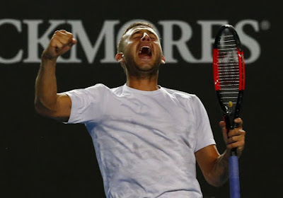 Straf! Nummer 33 van de wereld schakelt Novak Djokovic uit en neemt het in zijn kwartfinale op tegen David Goffin