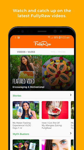 Screenshot for FullyRaw by Kristina in United States Play Store