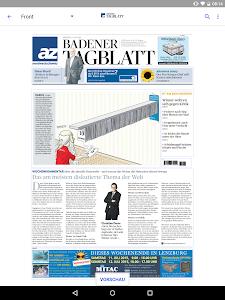 az Badener Tagblatt E-Paper screenshot 5