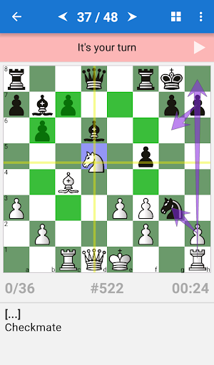 Chess Tactics Art (1400-1600 ELO) 1.2.1 screenshots 2