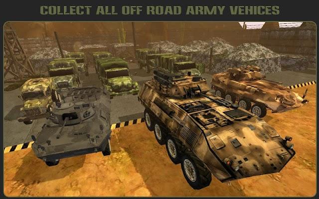 Offroad Army War Legends