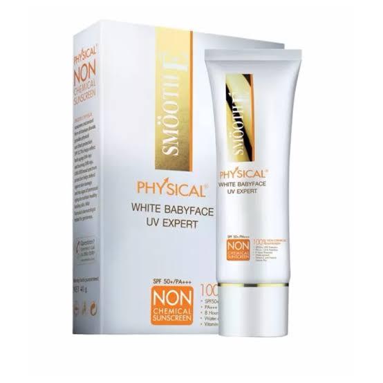 1. Smooth E Physical Sunscreen