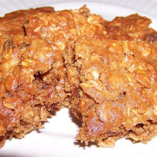 Oatmeal-Peanut Butter Trail Bars