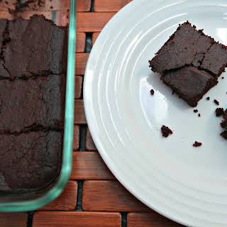 Low Carb Chocolate Pumpkin Brownies.