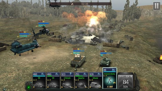 Commander Battle - Military + Defense Screenshot