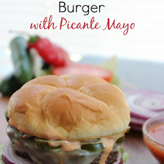Jalapeno Jack Burger with Picante Mayo Recipe