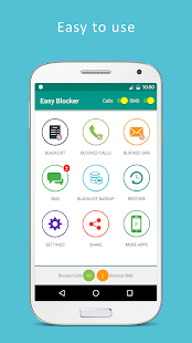 Call Blocker - Blacklist, SMS Blocker - náhled