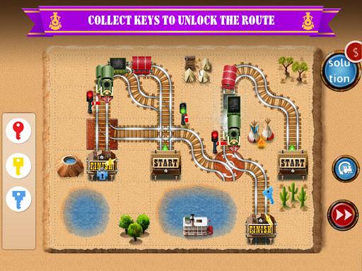 Rail Maze 2 : Train puzzler  gameplay | by HackJr.Pw 17