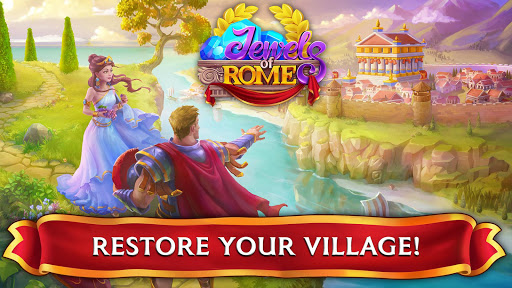 Jewels of Rome: Match gems to restore the city - screenshot