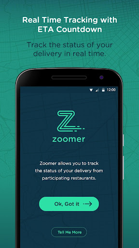 Zoomer - Track Your Food screenshot