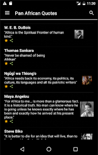 Pan African Quotes- screenshot thumbnail