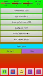 SIMULLIVE Life Simulator MOD (Unlimited Money) 3