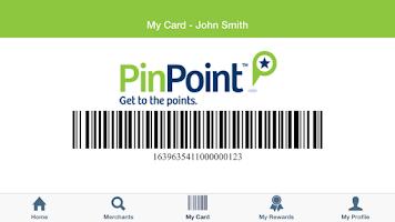 Screenshot of PinPoint Rewards