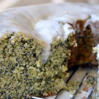 Amaretto Poppy Seed Cake.