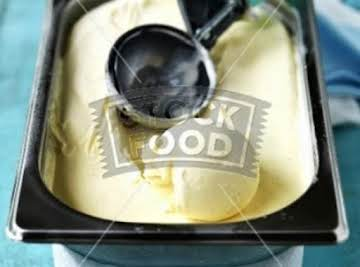 HOMEMADE VANILLA ICE CREAM - NO MACHINE