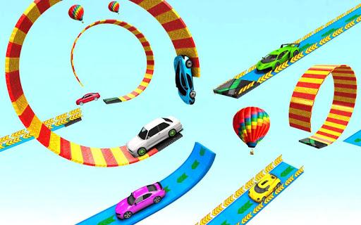 Car Racing Stunt Game - Mega Ramp Car Stunt Games apkpoly screenshots 9