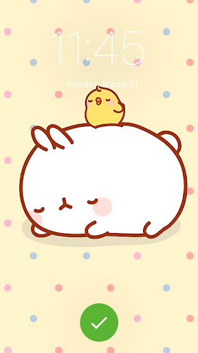Cute Bunny Wallpaper Kawaii Molang App Lock 1 0 Apk Download Com