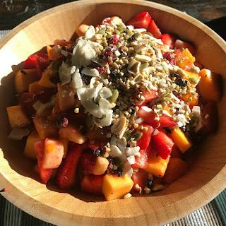 Birdseed Granola Fruit Salad.