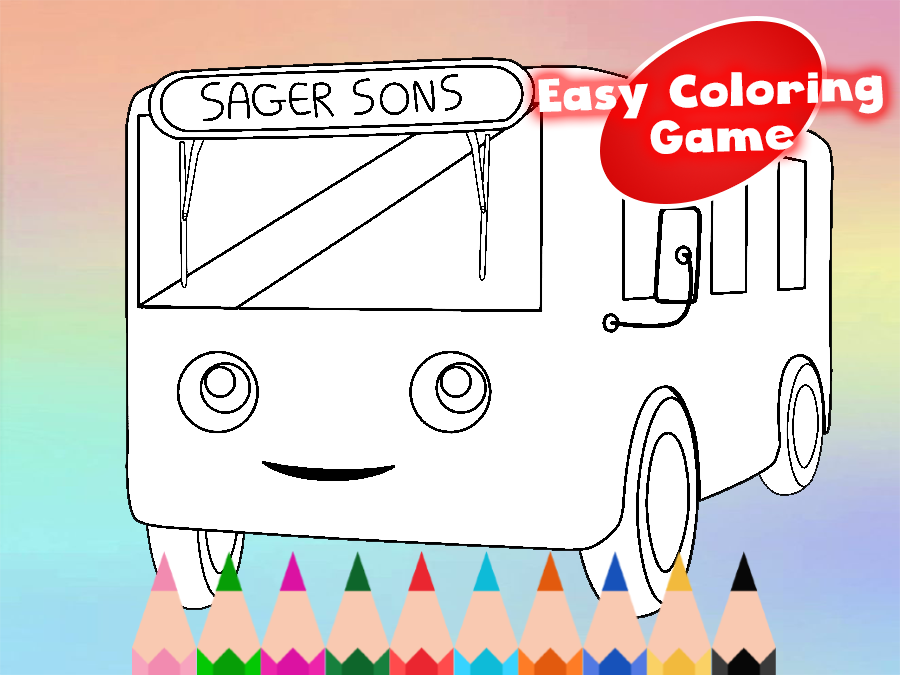 tayo the bus coloring pages - photo#36
