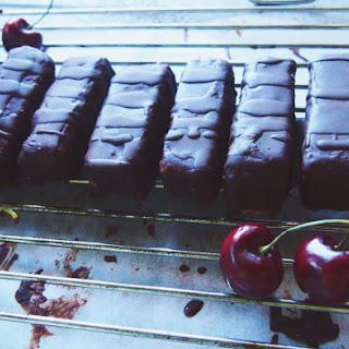 'Not-So-Naughty' Cherry Ripe Bars