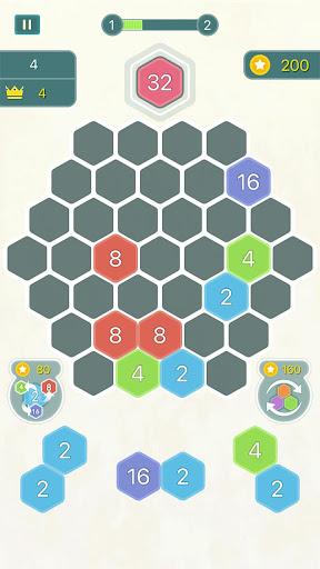 HexPop – Merge numbers to get 2048 1.201 screenshots 2