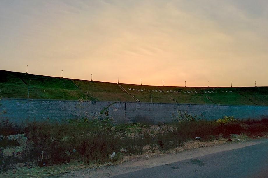 Nagarjuna Sagar - Left Earth Dam