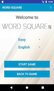 WORD SQUARE - náhled