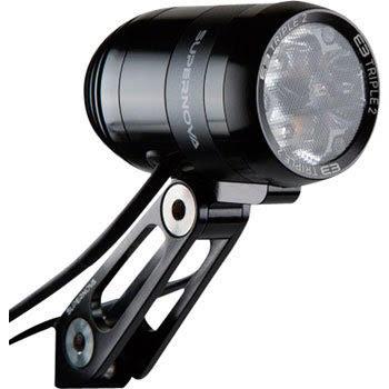 Supernova E3 Triple 2 Dynamo Headlight