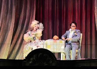 Photo: Salzburger Osterfestspiele 2015: I PAGLIACCI. Premiere 28.3.2015, Inszenierung: Philipp Stölzl. Maria Agresta, Tansel Akzeybek. Copyright: Barbara Zeininger