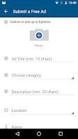 Screenshot of OLX Local Classifieds