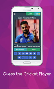 Download Guess The Cricket Player For PC Windows and Mac apk screenshot 1