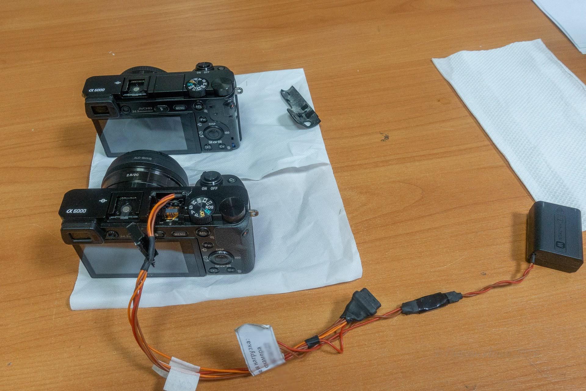 Вот они, красавцы Sony A6000