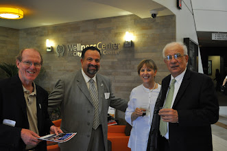 Photo: Drucker School's, Professor Joe Maciariello (R)