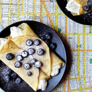 Fresh Blueberry Blintzes from Mastering the Art of Vegan Cooking.