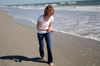 Photo: Gathering shells for the kids