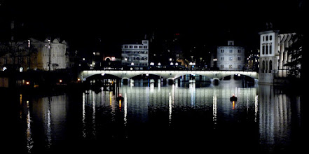 Photo: #creative366project Feb 16, 2012 – Münsterbrücke Zürich. +Fabian Schorp did some nice shots with his new 8mm Fisheye from the same spot, I hope +David Castro doesn't turn green from envy …