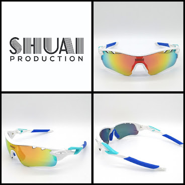 會員HK$499(White/Blue) SHUAI Polarized Sunglasses