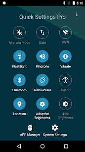 Super Quick Settings Pro – Toggles & AD Free v5.7 [Paid] 1