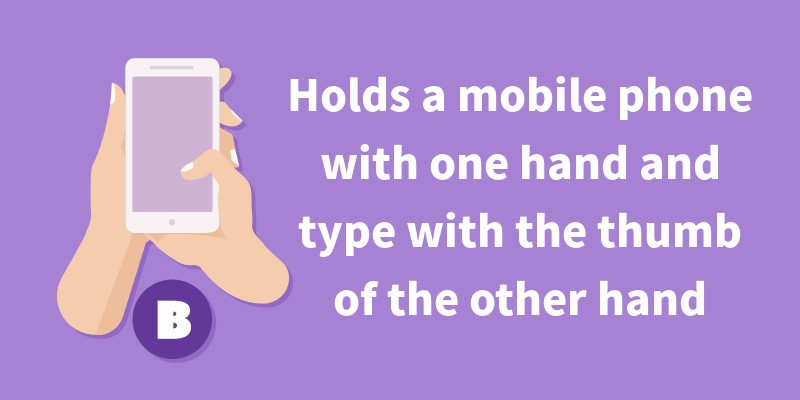 How You Hold Your Phone Says A Lot About You! – PlayBrain