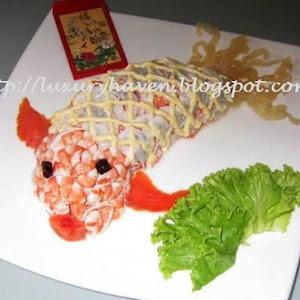 Reunion Dinner - Bountiful Goldfish Salad (年年有余)