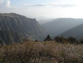 Photo: near Sankaber camp in Simien Mountains National Park